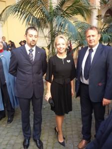 Con S.A.R. la Principessa Camilla di Borbone, Duchessa di Castro