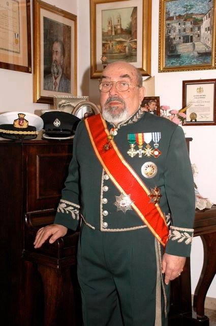 Salvatore Olivari de la Moneda, Gran Cancelliere dell'Ordine Patriarcale di S. Ignazio di Antiochia dei Siri. (ITALIA)