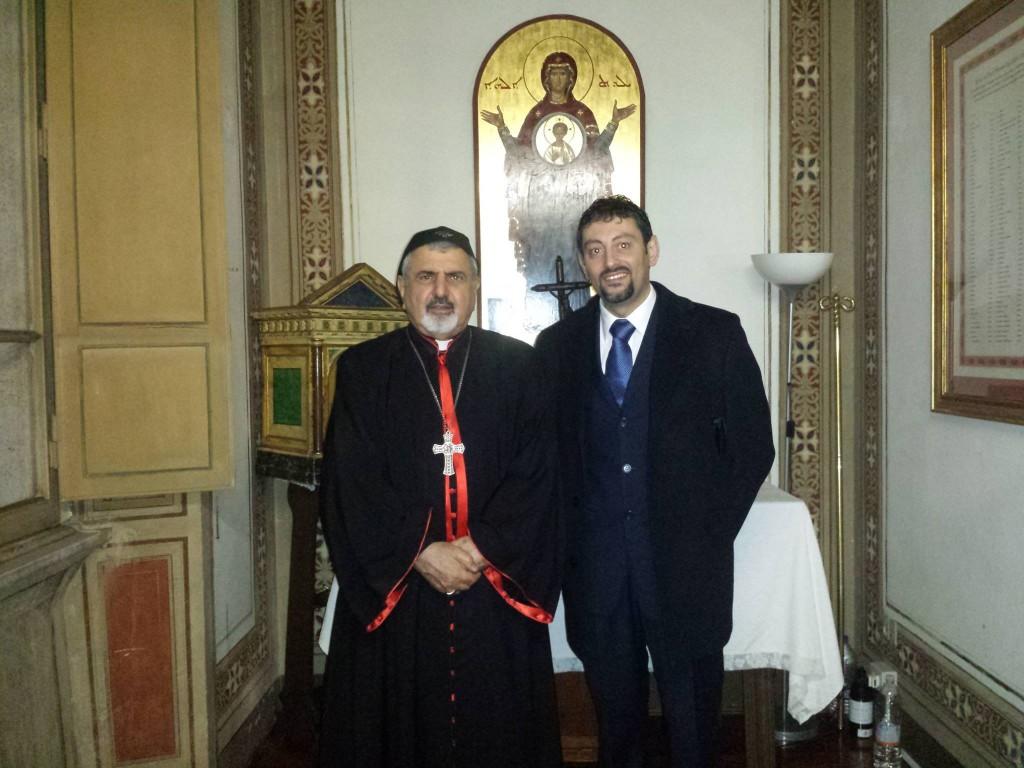 S.B.R. Ignazio Youssef III° Youunan, Patriarca dei Siri Cattolici e Gran Maestro dell'Ordine Patriarcale di S. Ignazio di Antiochia.