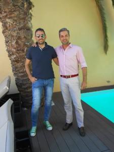 Con il Tenore Portoghese, Cav. Bruno de MENEZES RIBEIRO