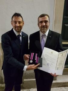 Cavaliere Paulo Jorge da Conceição Vitorino - Comandante della Real Associaçao Humanitária dos Bombeiros Voluntários de Lisboa