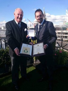 Con Ronald Murray Esq – Ex Master of the Worshipful Company of Firefighters of the City of London (UK)