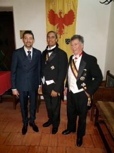 Con H.R.H. Crown Prince Kalokuokamaile III - Crown Prince delle Hawaii e S.E.