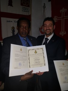 Con S.E. Boniface Benzinge Chancellor of the Royal House of Rwanda