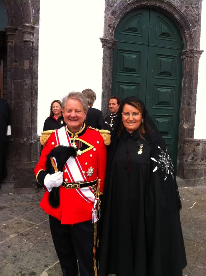 I coniugi: Dr. Josè Antònio Alves Cunha Coutinho e la Dr. Maria Antonietta Sanhudo Cunha Coutinho
