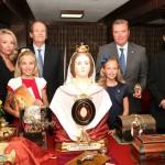 Busto della Beata Maria Cristina donato dalla Presidenza della Nobilis al museo Reliquiario Vaticano Lipsanoteca di Ourem (Portogallo)